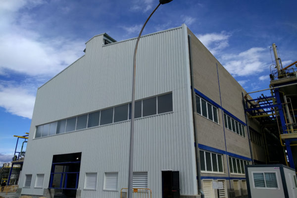 Completion of the expansion of a chlor-alkali production plant with membrane cells technology.